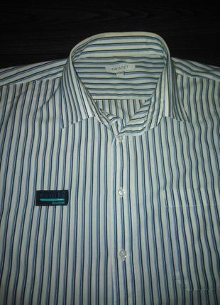 Отличная  мега-рубашка kwintet  47-48 ворот