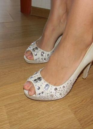 Босоножки туфли 39- 40 р женские