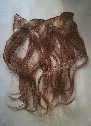 Натуральные трессы для наращивания волос.