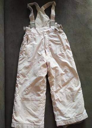 Мембранный полукомбинезон inside,лыжные штаны,зимний термо комбинезон