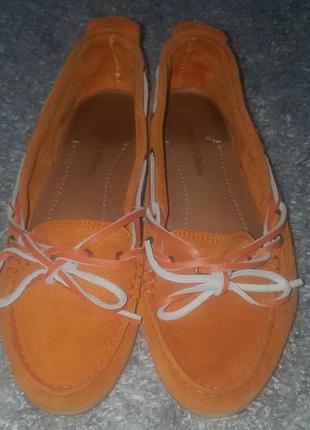 Оригинал.фирменные,замшевые,натуральные мокасины-лоферы-туфли marc o'polo