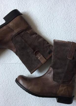 Сапоги ботинки деми кожа camper р-р 42