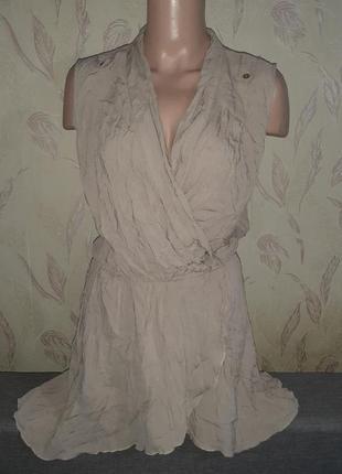 Летнее лёгкое платье на запах