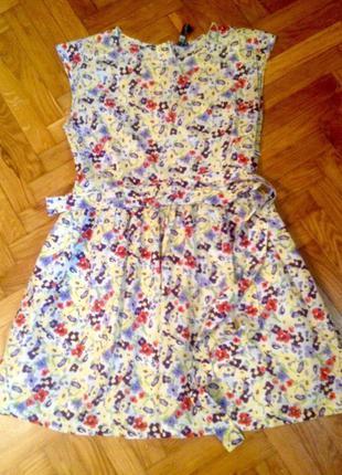 Платье в цветочек импрессиониста)