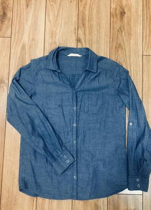 Джинсова сорочка/ джинсовая рубашка