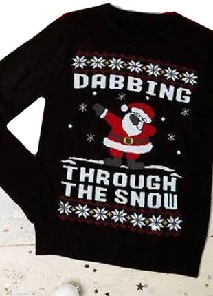 Новогодний свитер для подростка