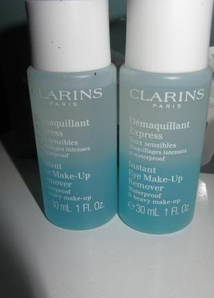 Средство для снятия макияжа с глаз clarins instant
