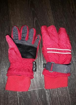 Тёплые перчатки краги