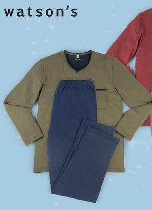 "Мужcкая пижама, домашний костюм немецкого бренда ""watsons"" р. xl 56"