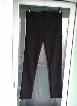 """Брюки """"next school"""" зауженные р.158 подростку 13л черные школьные штаны"""