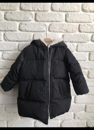 Зимняя куртка zara на девочку