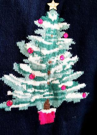 🎄новогодний свитшот для фотосессии,свитер на новый год( ёлка)3 фото