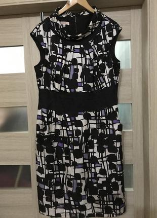 Классное платье laurel, 100% шёлк!
