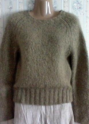 Шерстяной свитер-джемпер от max mara, разм.42