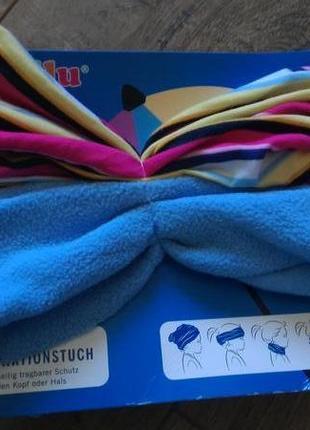 Детский мульти функциональный шарф.lupilu/германия.70х50