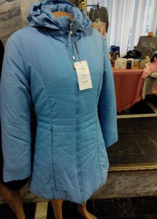 Новая зимняя курточка-пальто 48-50р-р