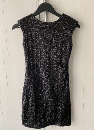Клубное платье из паеток