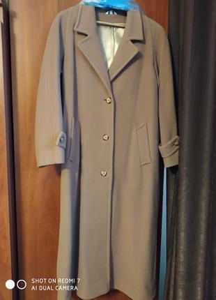 Супер пальто цвет кэмэл классика