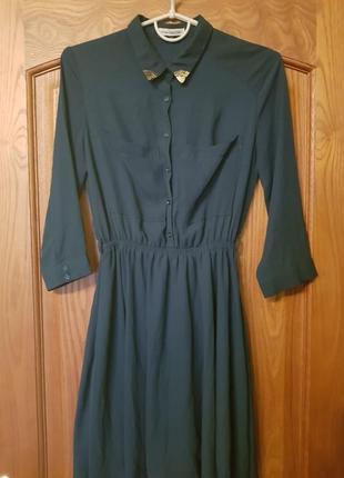Сукня насиченого кольору bershka