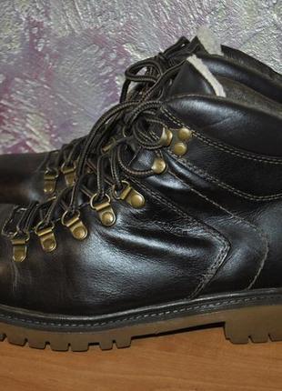Кожаные зимние ботинки bama