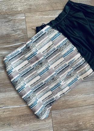 Стильная жаккардовая юбка