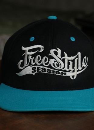 Бейсболка freestyle session snapback cap от cros one