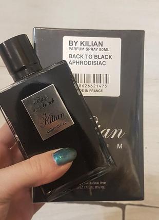 Kilian back to black by kilian aphrodisiac килиан бек ту бек афродизиак 50 мл нишевая