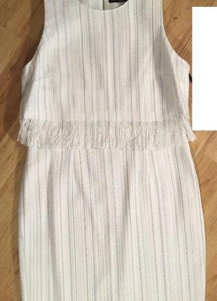 Твидовое платье karl logerfeld