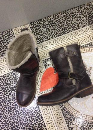 ... Зимние кожаные ботинки стиль гранж ultratex stone walk ежедневное  обновление-подписуйтесь3 ... dbbd993e89e