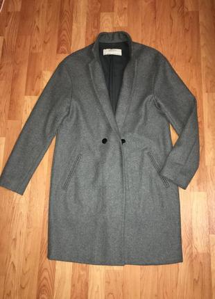 Актуальное шерстяное пальто тренч фирмы zara испания