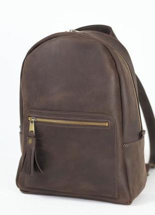 Кожа. ручная работа. кожаный рюкзак. рюкзачок
