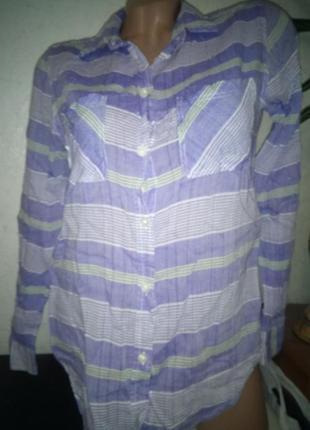 Симпатичная рубашка в полоску