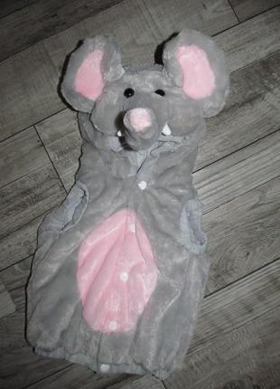 Карнавальный костюм  слоненка wilko на 18мес.