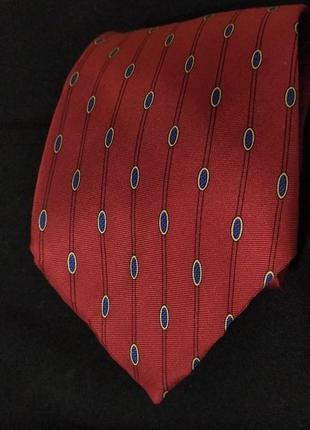 Красный шелковый галстук angelo bosani tie rack