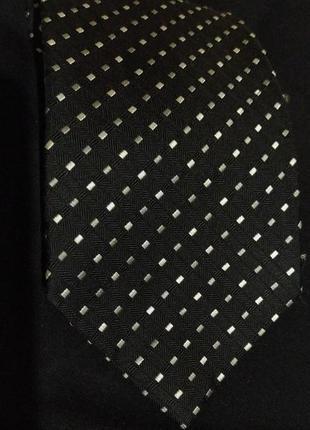 Черный галстук  tommy hilfiger