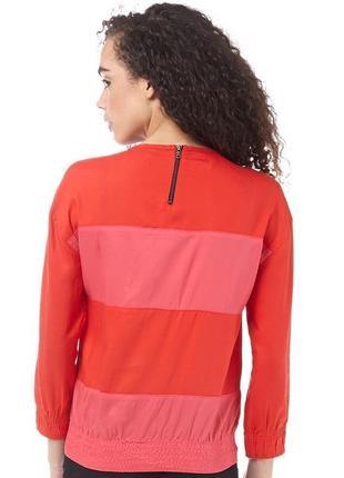 Красная,тонкая,спортивная блузка ,кофта,оригинал, adidas