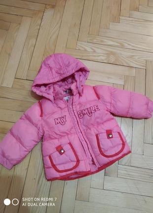 Курточка chicco 74см.