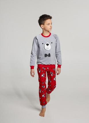 Пижама на мальчика с начёсом 128, 134 см