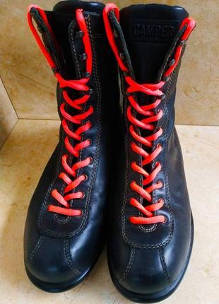 Женские кожаные ботинки camper (39 р.)