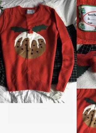 Новорічний светр / новогодний свитер / кофта