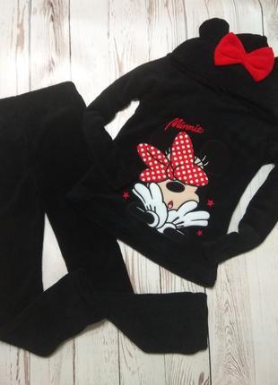 Піжама, домашній костюм від minnie mouse.