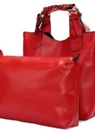 Шоппер марсала сумка zara