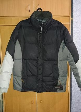 Куртка мужская пуховик 54 разм.
