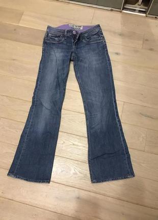 Качественные джинсы клеш