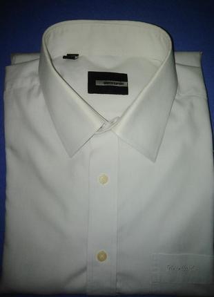 Фирменная мужская рубашка pierre cardin 100% качество!