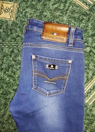 Классные джинсы на байке, дёшево. 😁