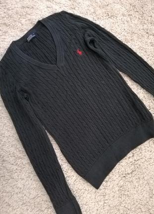 Polo ralph lauren крутой хлопковый свитер