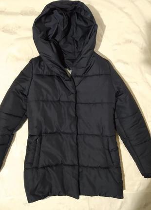 "Зимняя куртка зефирка ""оверсайз'  на с-м"