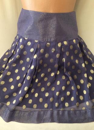 Шифоновая юбка ,размер 44 или подростковая
