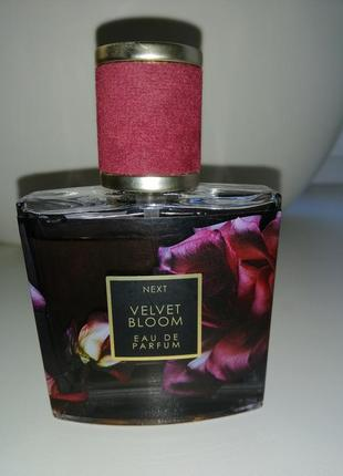Оригинал next velvet bloom парфумированная вода